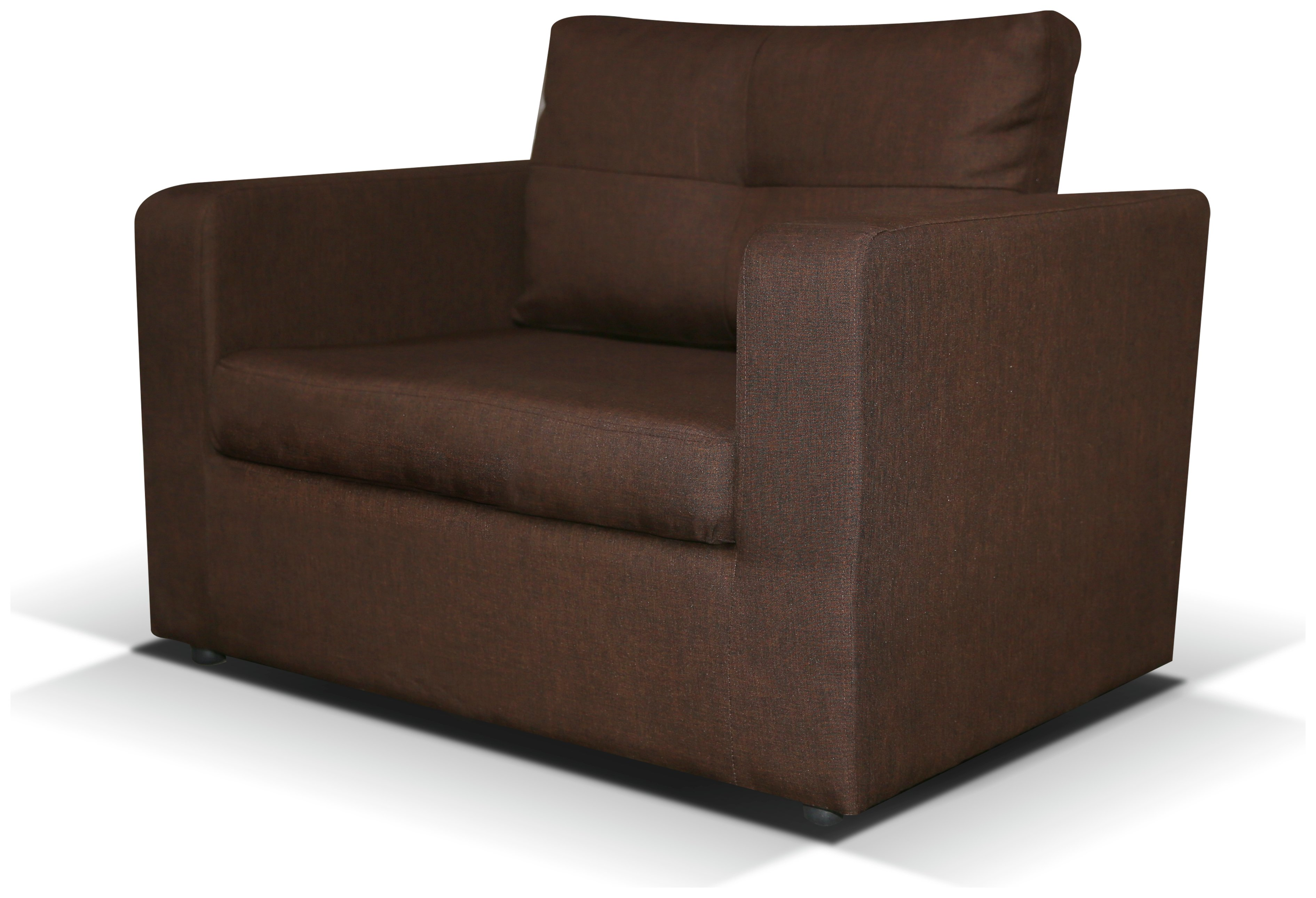 Max - Fabric Chair Bed - Chocolate lowest price
