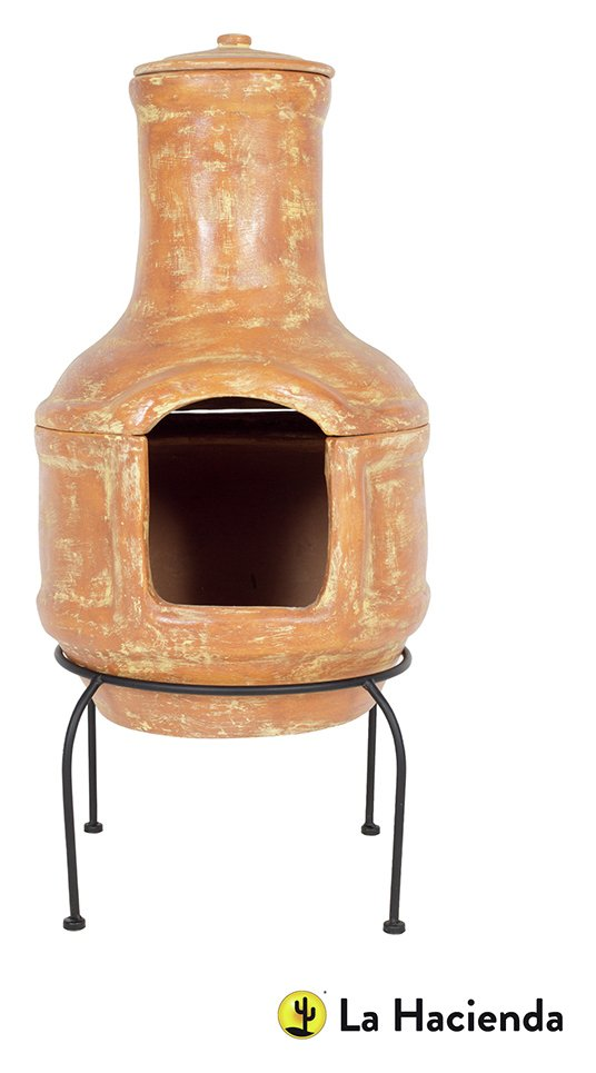 Image of La Hacienda - Large Chiminea and Grill