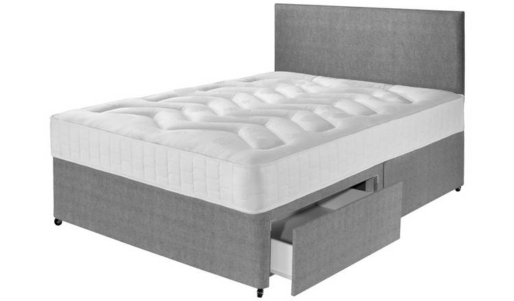 Argos Home Elmdon Deep Ortho 2 Drawer Divan - Kingsize