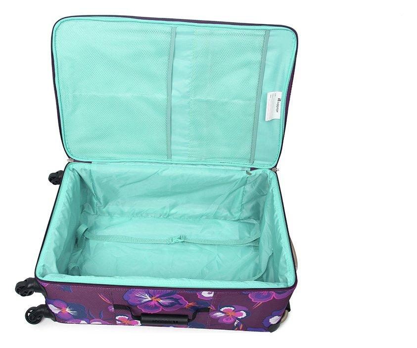 It Luggage World S Lightest Small 4 Wheel Suitcase Singapore Ultra Lightweight Soft Suitcase