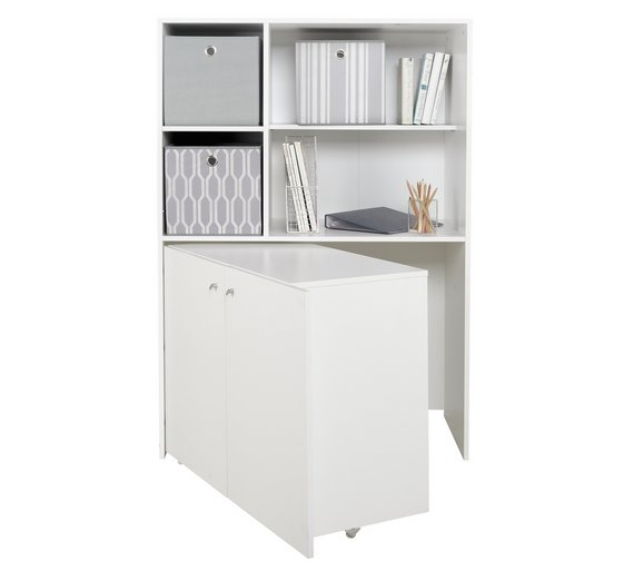 hideaway hide to shelterness save space your desk corner ideas away computer