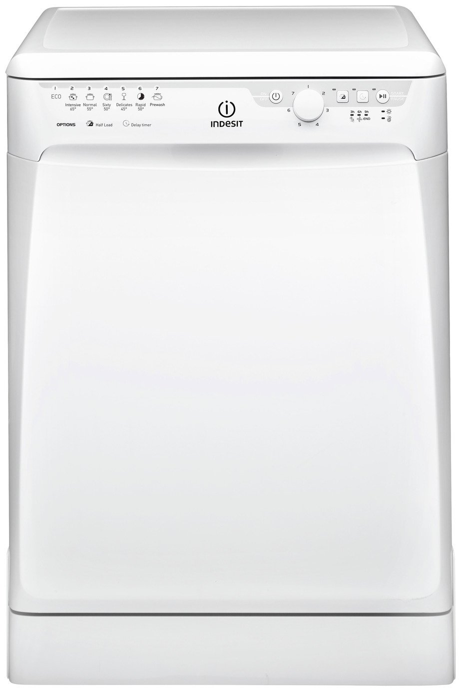 Indesit DFP27B10 Full Size Dishwasher - White