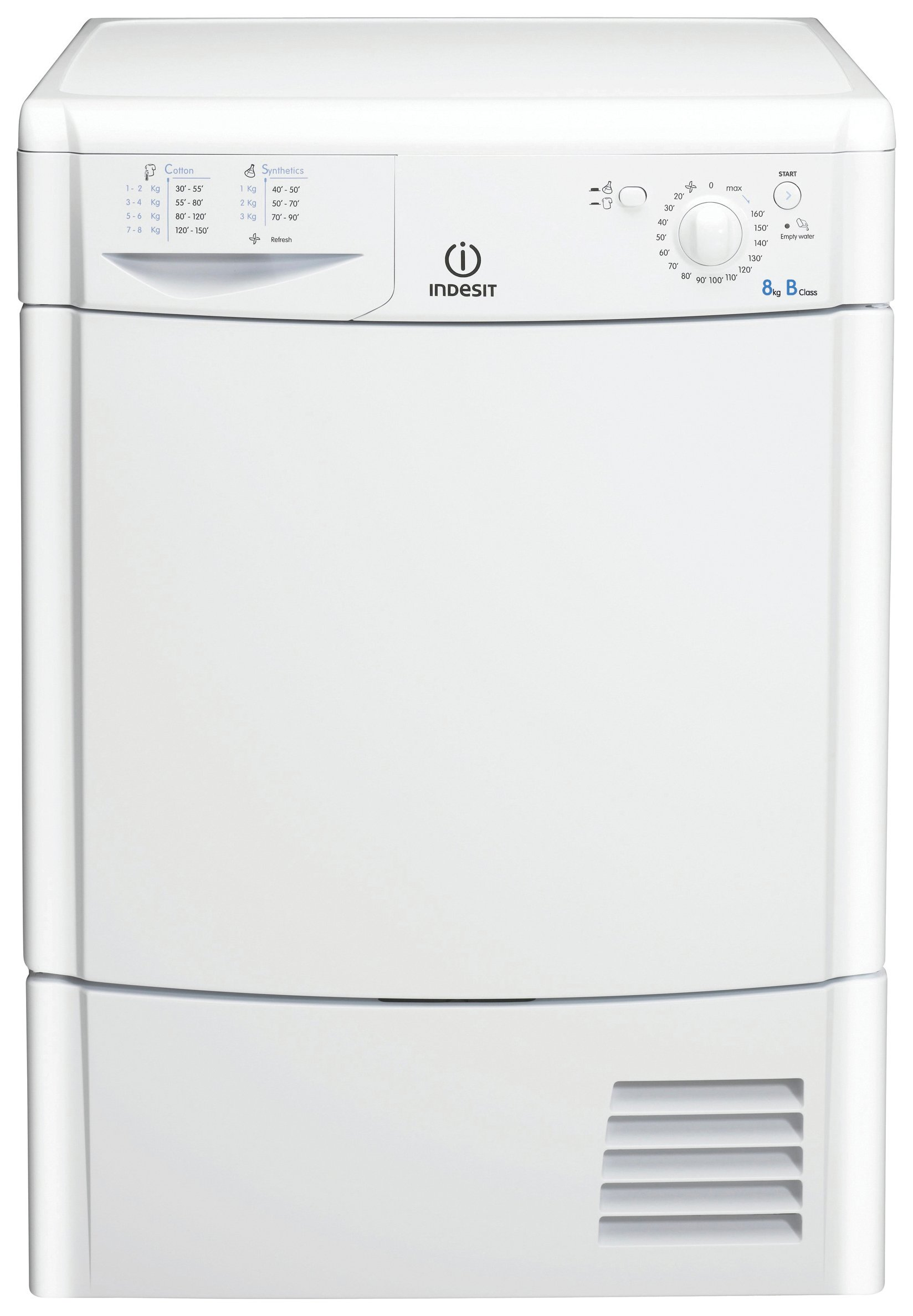 Indesit - IDC8T3B - Tumble Dryer - White