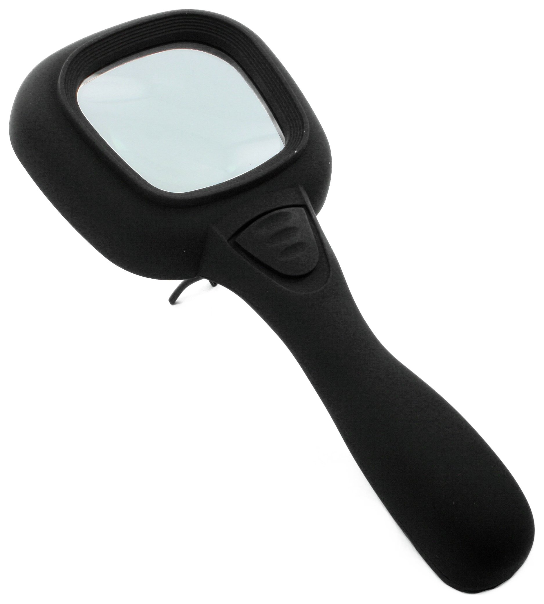 LightCraft LC1901 LED x4 Handheld Magnifier with Stand