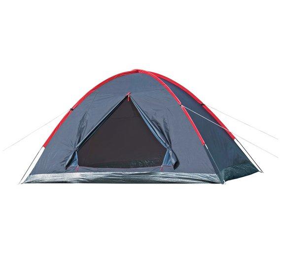 buy proaction 5 man 1 room dome tent tents argos