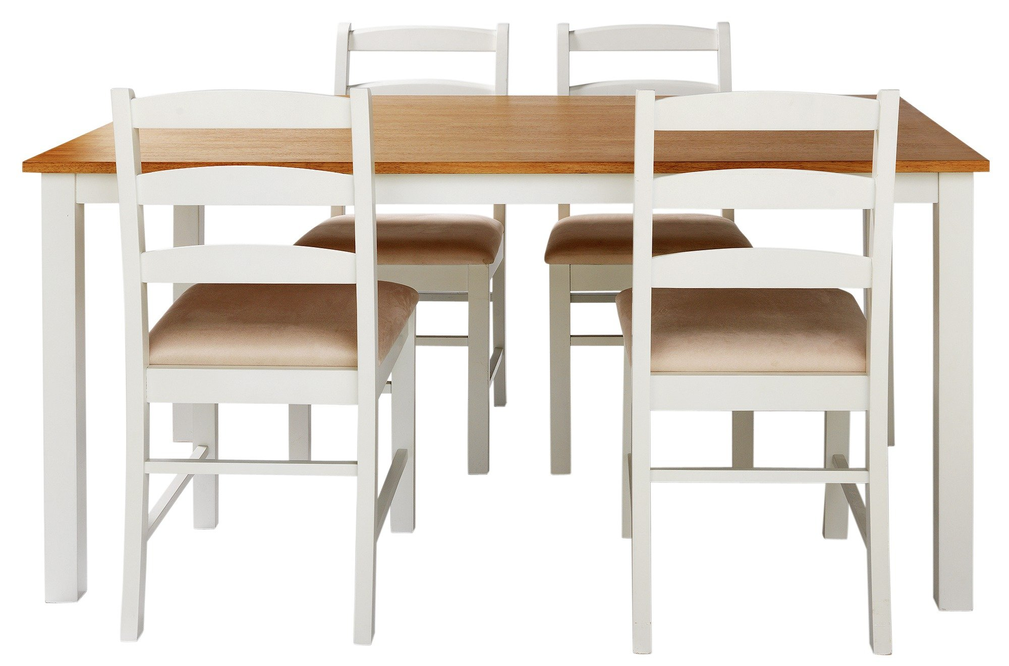 Buy Collection Hamstead Oak Veneer Table   Chairs - Two Tone at