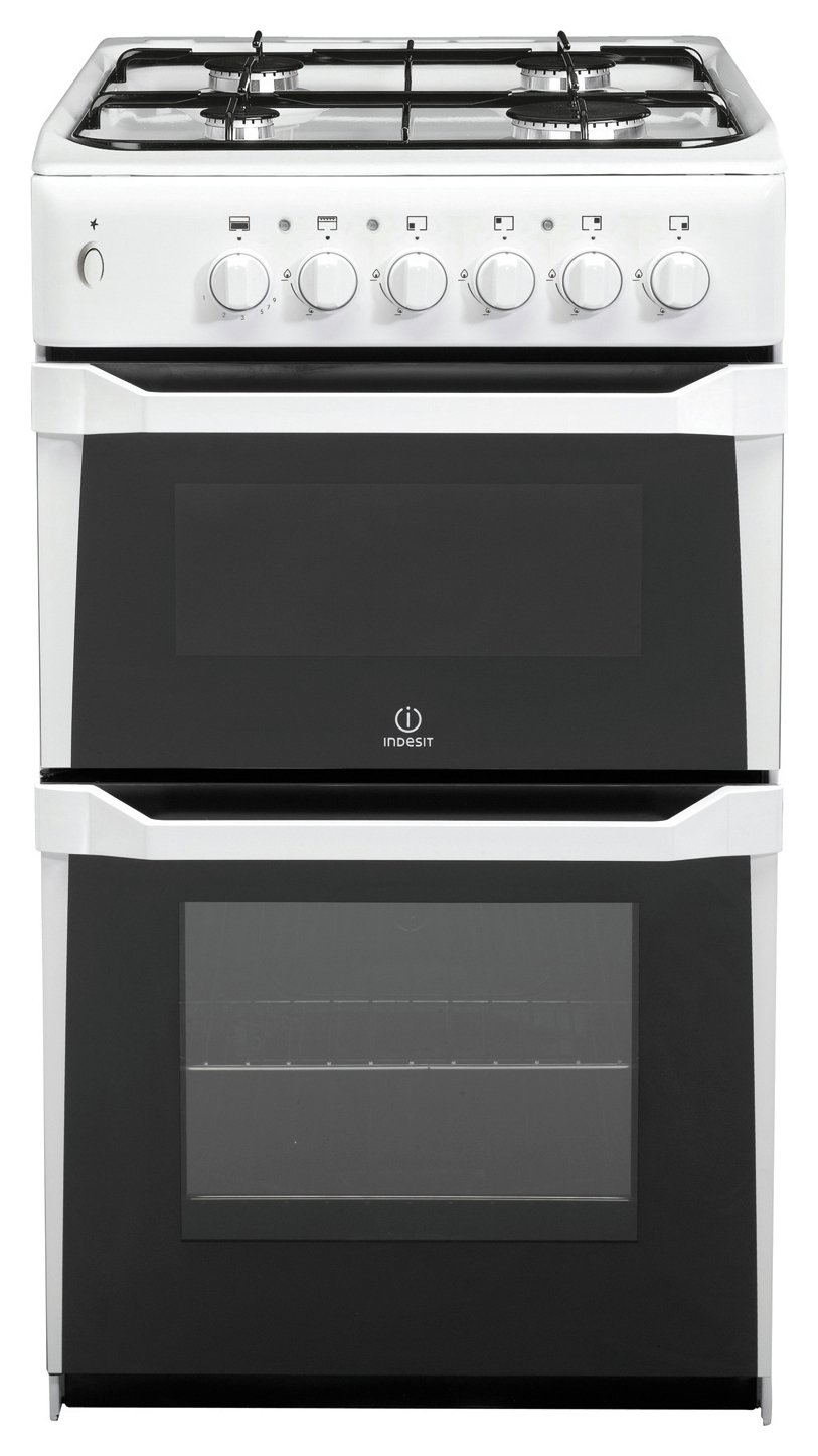 indesit it50gw freestanding twin cavity gas cooker review. Black Bedroom Furniture Sets. Home Design Ideas