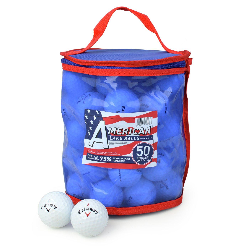 Callaway Premium Grade A Lake Golf Balls - 50 Pack