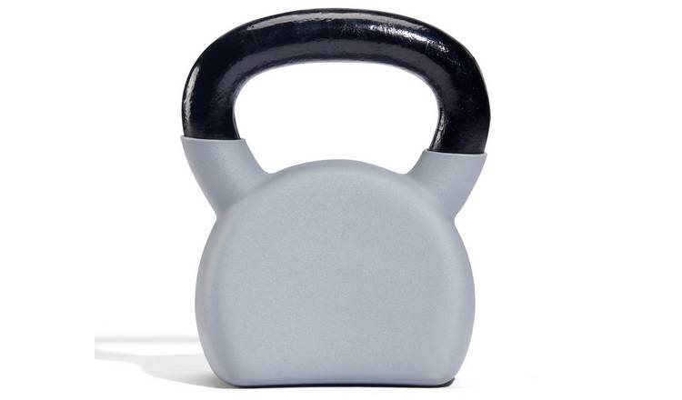 Women's Health Cast Iron and Rubber Kettlebell - 8kg