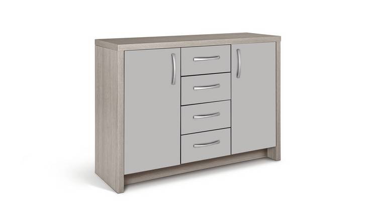 Argos Home Venice 2 Door 4 Drawer Sideboard - Grey