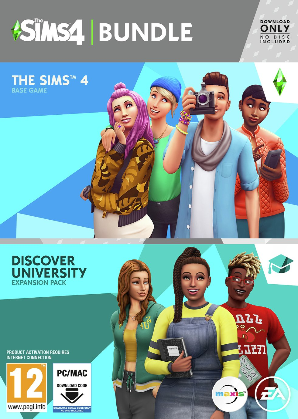 The Sims 4 Discover University PC Game & Expansion Pack