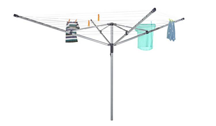 Argos Home 50m 4 Arm Rotary Airer