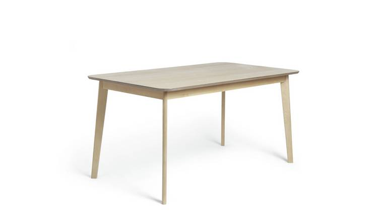Argos Home Skandi Oak Veneer 6 Seater Dining Table