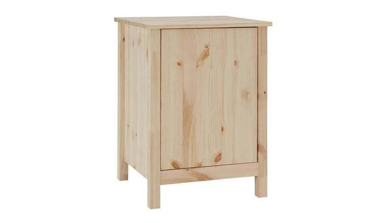Argos Home Scandinavia Pine Bedside Chest