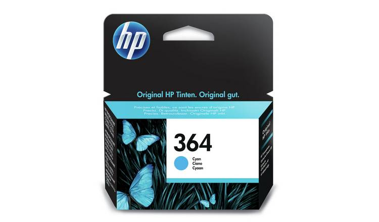 HP 364 Original Ink Cartridge - Cyan