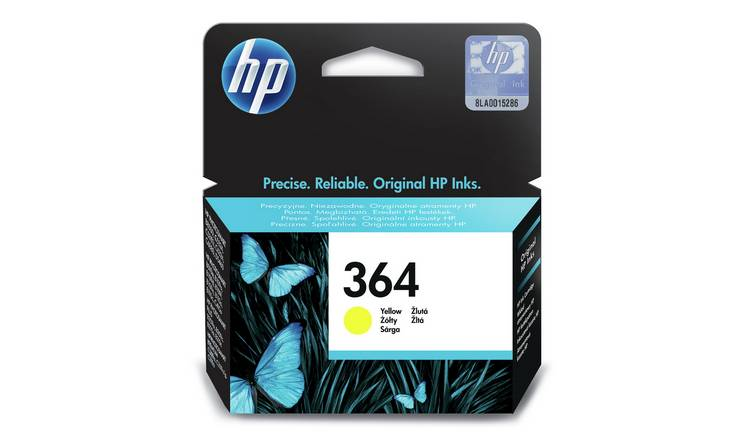 HP 364 Original Ink Cartridge - Yellow