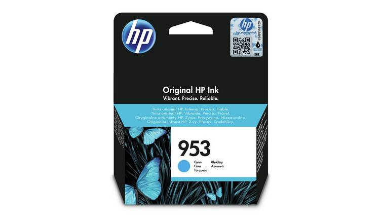 HP 953 Original Ink Cartridge - Cyan