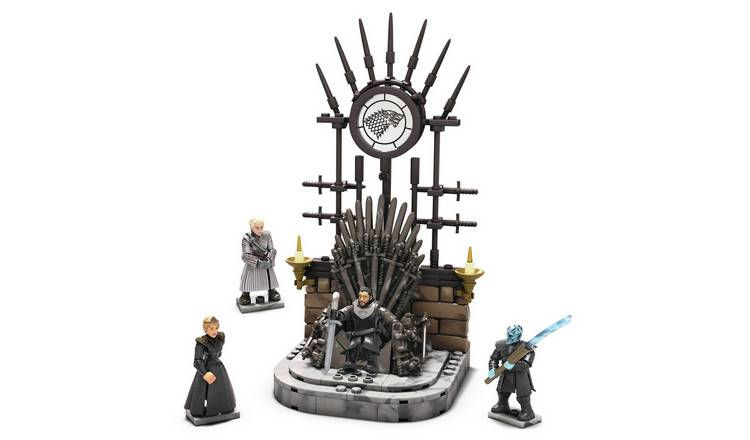 Mega Construx Iron Throne Figure