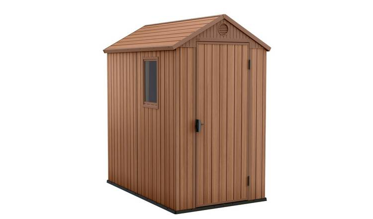 Keter Darwin 4 x 6 Plastic Shed