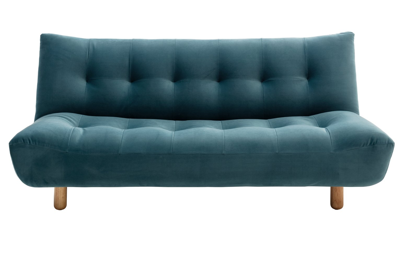 Habitat Kota 3 Seater Fabric Sofa Bed - Teal