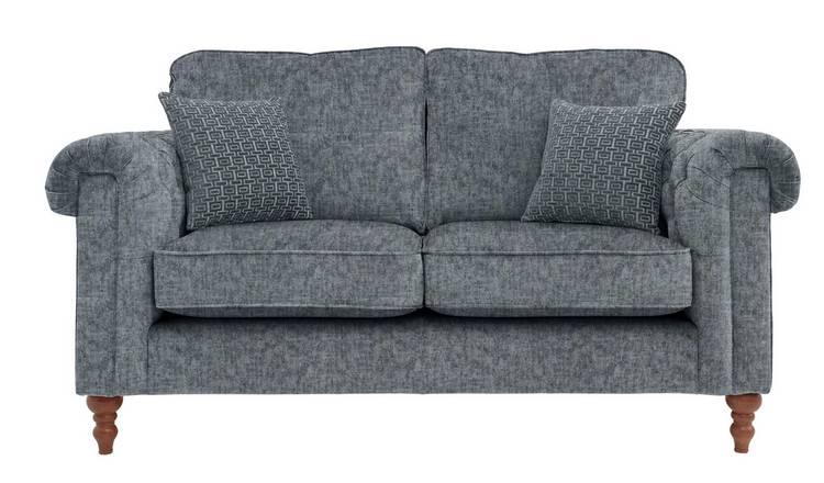 Stupendous Buy Argos Home Rebecca 2 Seater Fabric Sofa Charcoal Sofas Argos Pdpeps Interior Chair Design Pdpepsorg