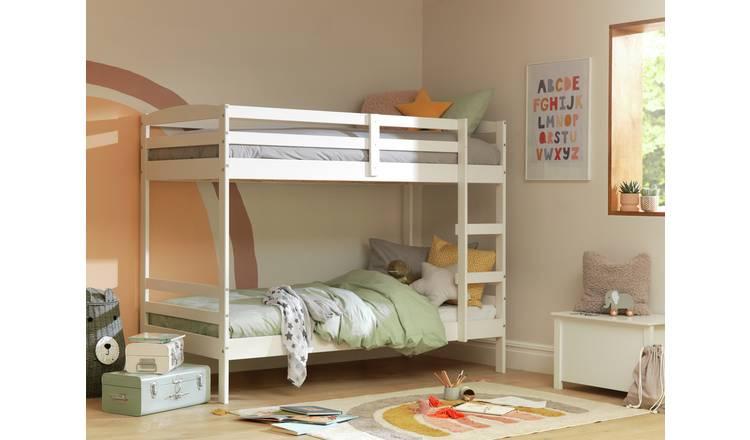 promo code 91ff8 2b952 Buy Argos Home Josie White Bunk Bed & 2 Kids Mattresses | Kids beds | Argos
