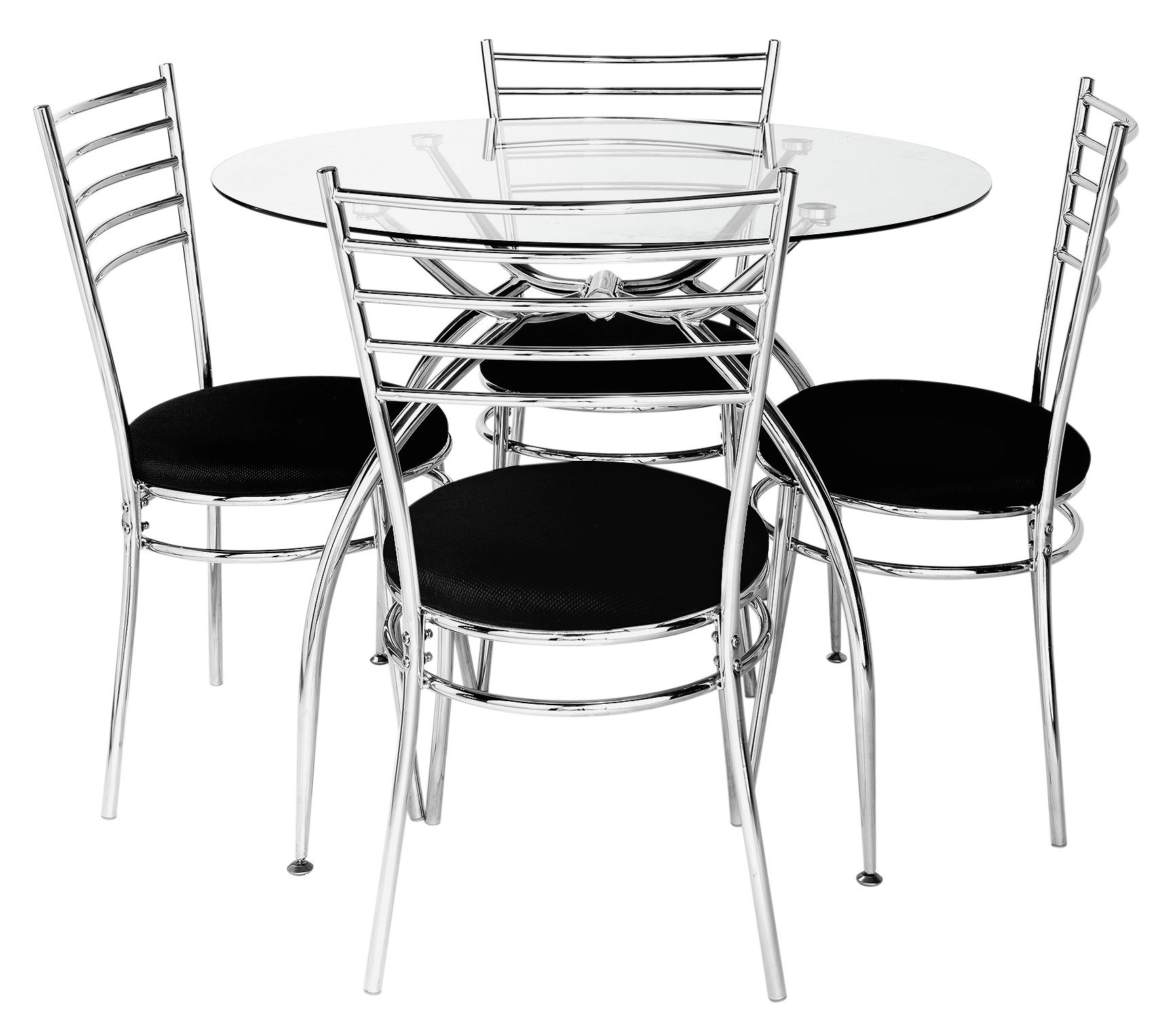 Hygena Lusi Glass Dining Table & 4 Chairs Review