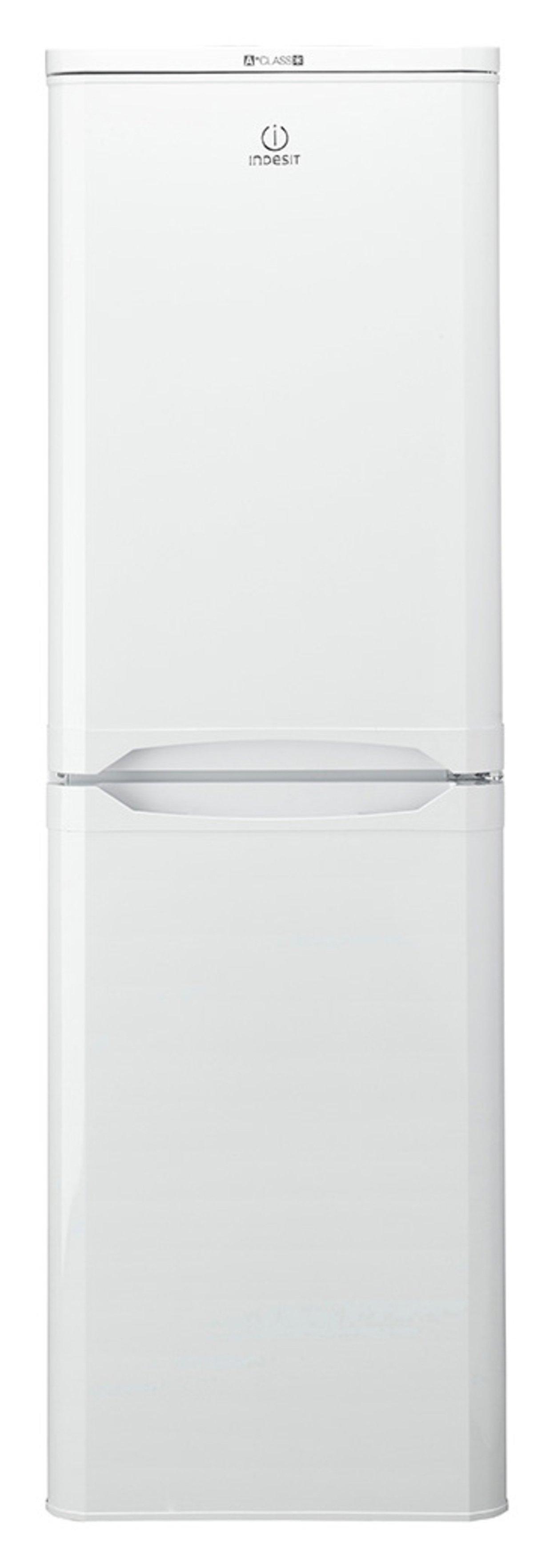Image of Indesit CAA55 234L Fridge Freezer - White