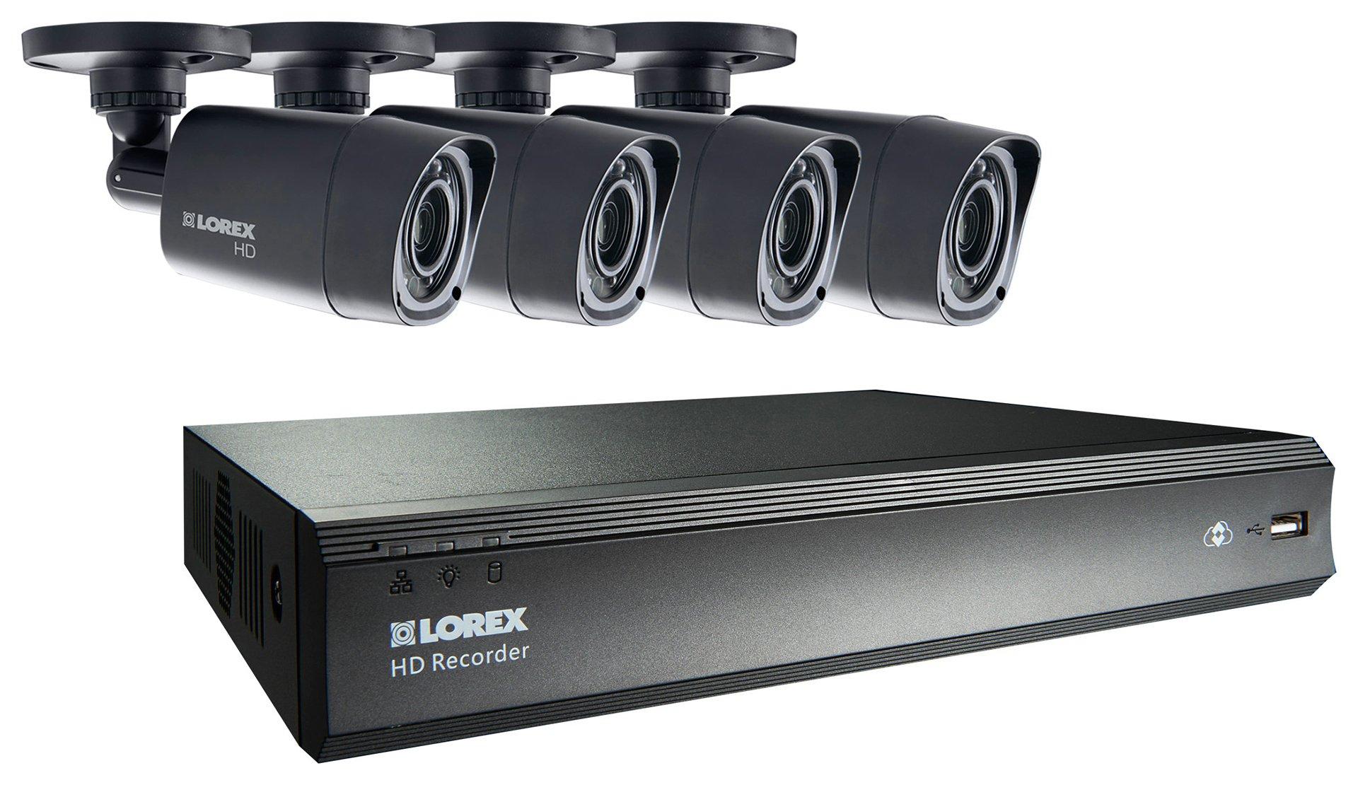 Lorex - LHV00081TC4P CCTV Camera Kit
