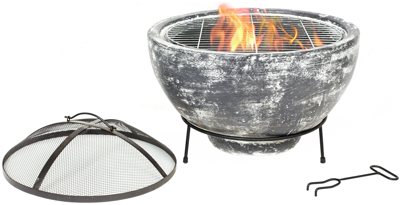 Image of La Hacienda - Slate Effect Large Firebowl