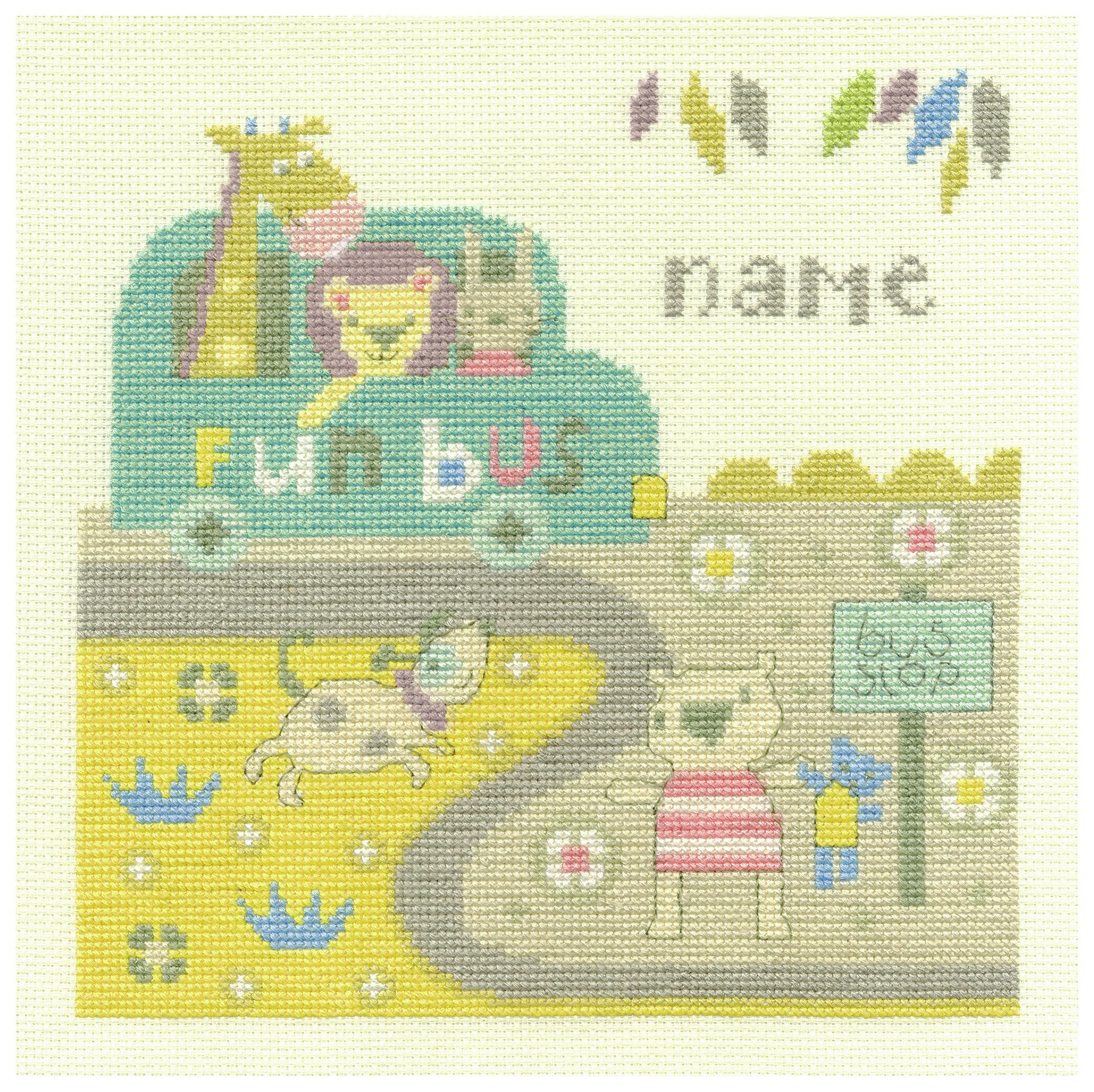 Baby Bus Stop - Cross Stitch Kit lowest price