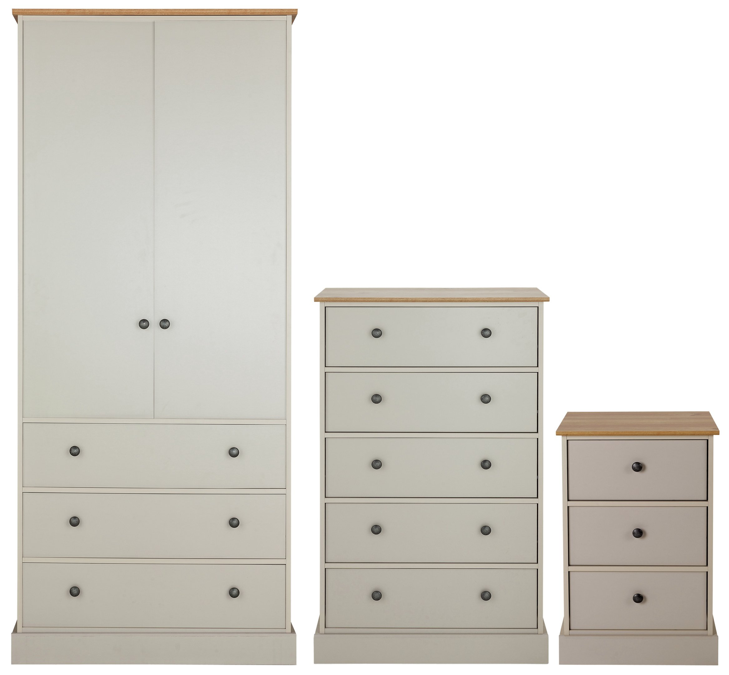 Argos Bedroom Furniture Adorable Buy Collection Kensington 3 Pc Package  Oak Effect & Soft Grey At . Inspiration