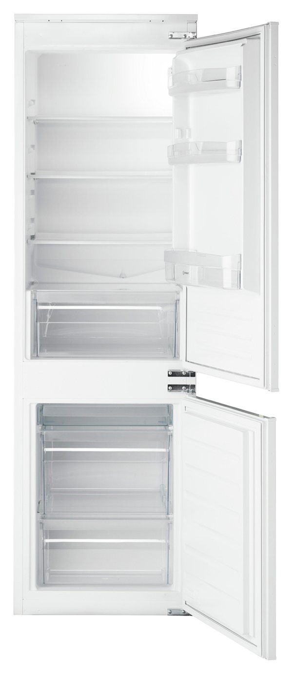 Indesit IB7030A1D Integrated Fridge Freezer - White