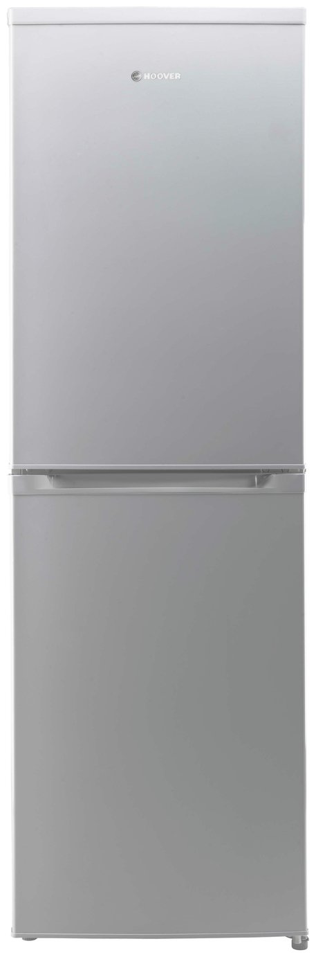 Hoover HVBF5182AK Frost Free Fridge Freezer - Silver Best Price, Cheapest Prices