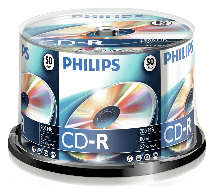 philips-cd-r-pack-of-50-on-a-spindle