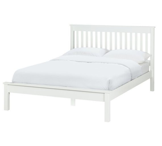 double bed frame white at your online shop for bed