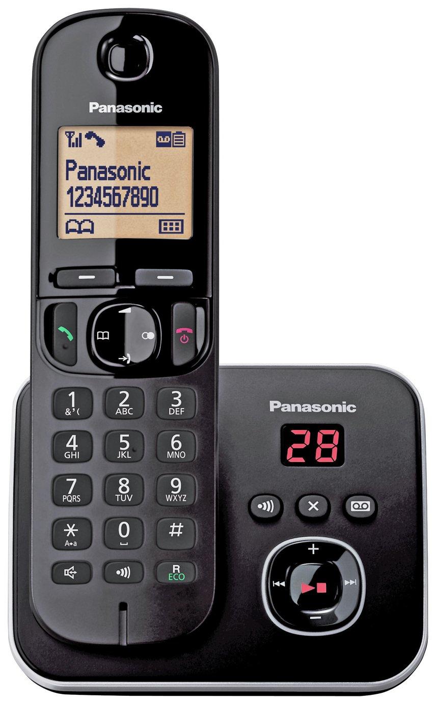 Panasonic KXTG6801 Cordless Telephone with Answer M/c-Single