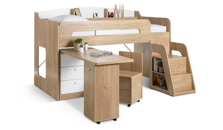 Buy Argos Home Ultimate Storage Mid Sleeper Amp Kids Mattress