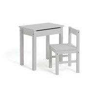 HOME - Kids Scandinavia Desk and Chair - White