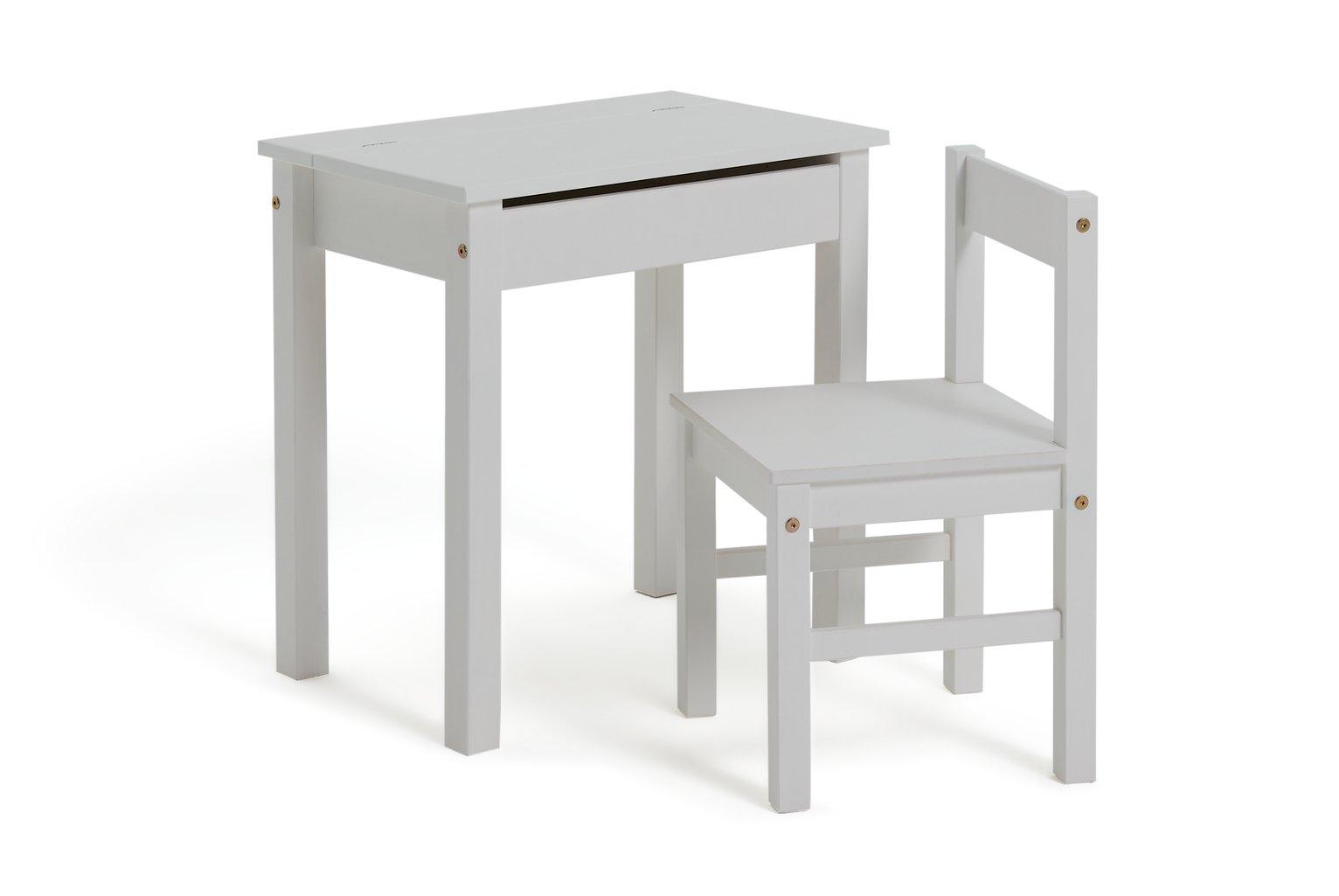 Buy Argos Home Scandinavia White Desk U0026 Chair | Kids ...