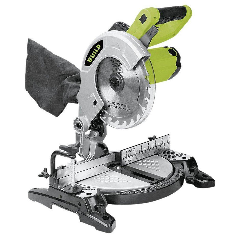 Guild - 210mm Compound Mitre Saw - 1200W