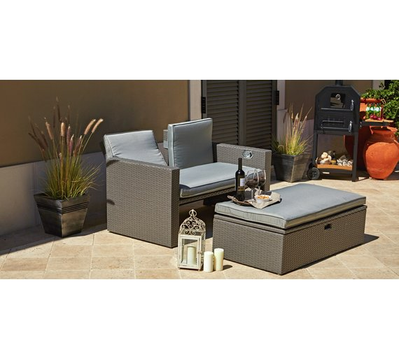 Rattan Effect Recliner Sofa459 9988. Buy Rattan Effect Recliner Sofa at Argos co uk   Your Online Shop