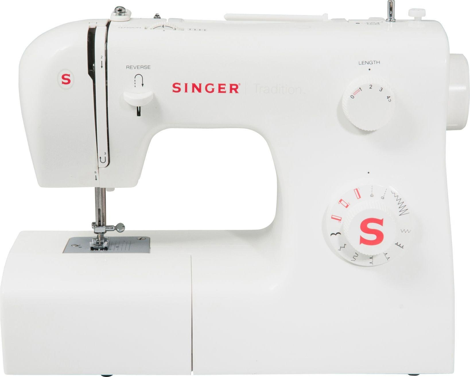 Singer - Tradition 2250 Compact Sewing Machine - White