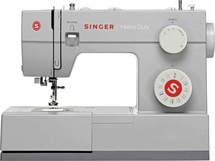 Singer - 4423 Heavy Duty Metal Sewing Machine - Grey