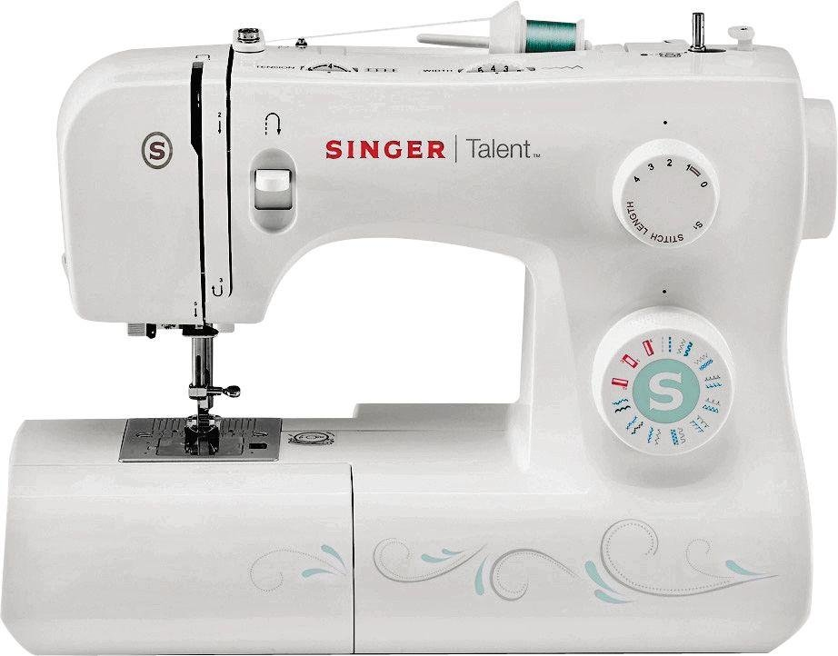 Singer 3321 Talent Sewing Machine - White.