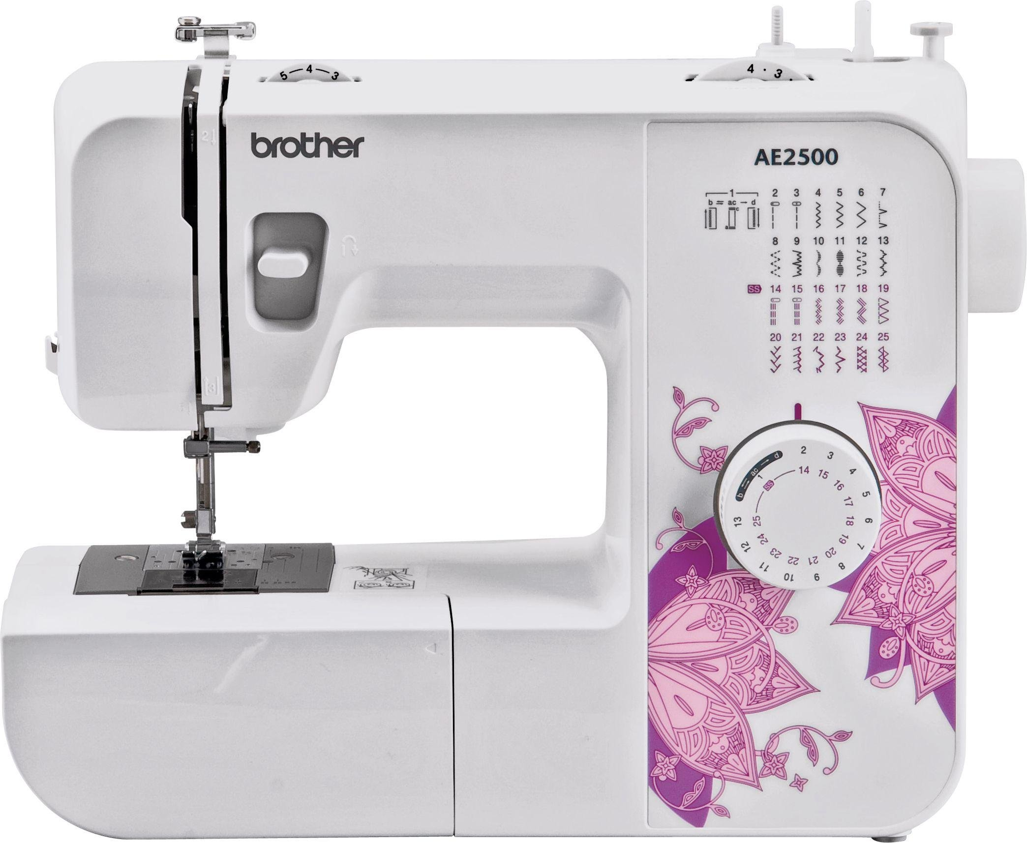 Image of Brother - AE2500 Stitch Sewing Machine - White
