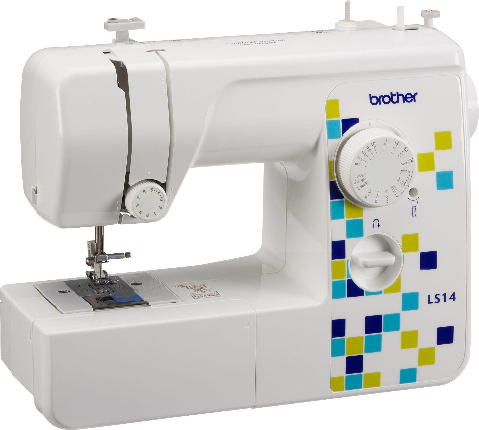 Brother - LS14 Manual Stitch Sewing Machine - White lowest price