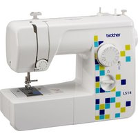 Brother - LS14 Manual Stitch Sewing Machine - White