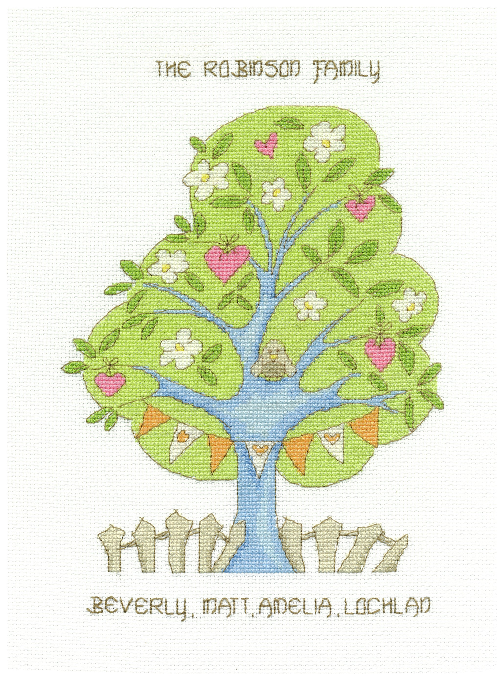 Image of My Family Tree - Cross Stitch Kit