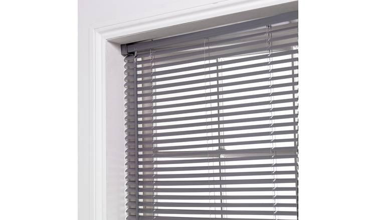 Buy Argos Home 25mm Pvc Venetian Blind Flint Grey
